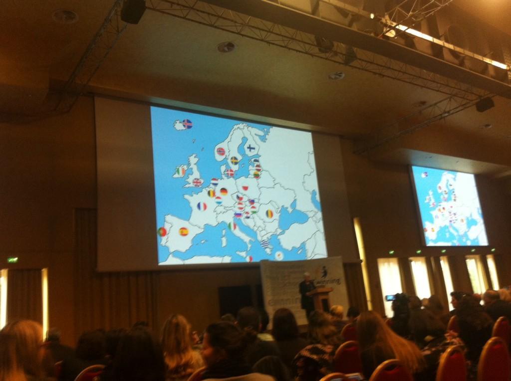 Anne Gilleran welcomes European countries eTwinning delegates #eTconf14 http://t.co/MVJWeo9yHy