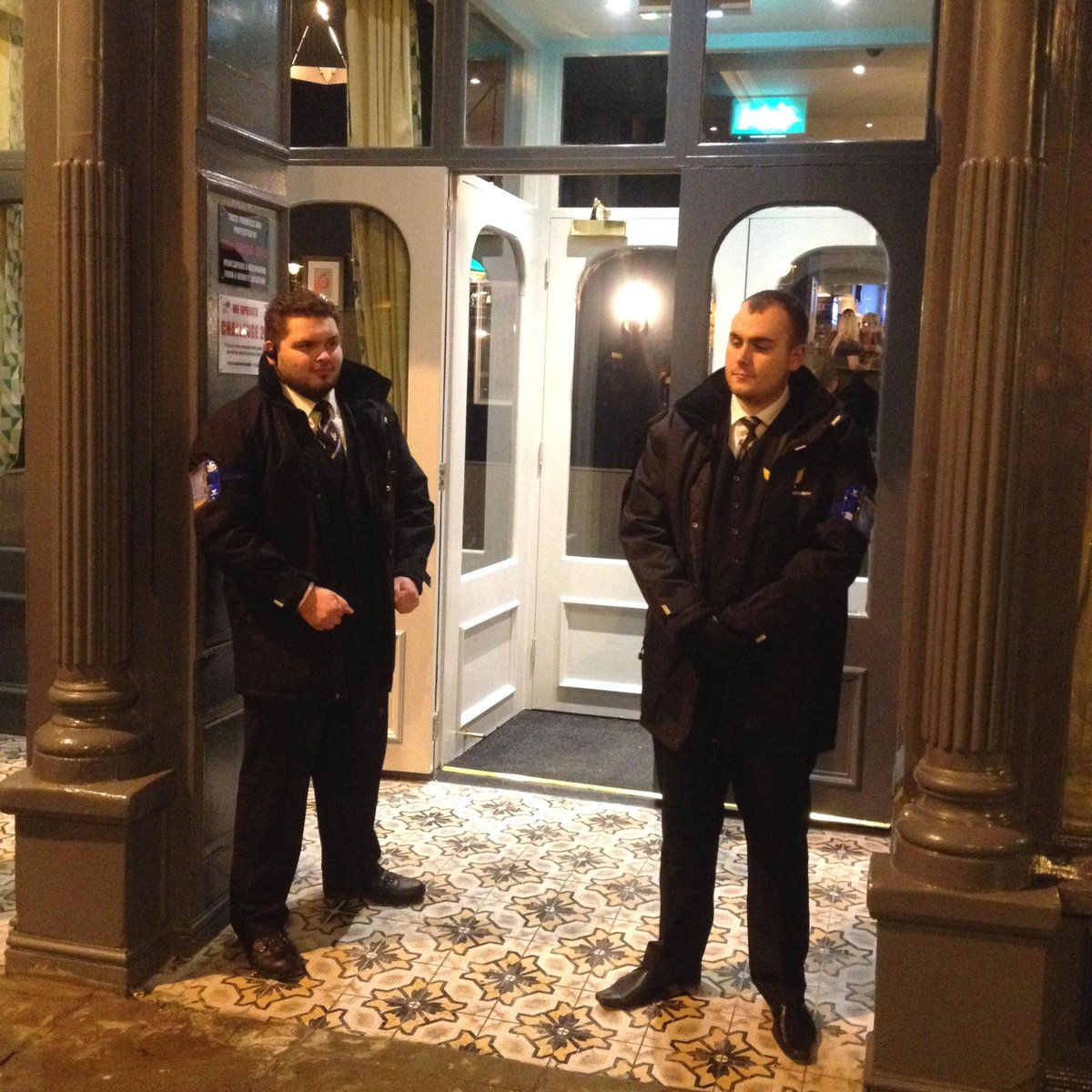 Phoenix Security on Twitter  Door Supervisors Lewis Bowden and Connor Quick outside new venue Vesta Tilleys in #Sunderland #security #sia ...  sc 1 st  Twitter & Phoenix Security on Twitter: