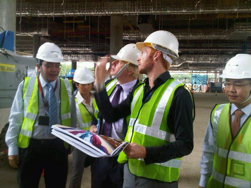 In Singapore promoting opportunities for London SMEs - just saw incredible T4 airport site by British designers Benoy http://t.co/iAo77VLrz7