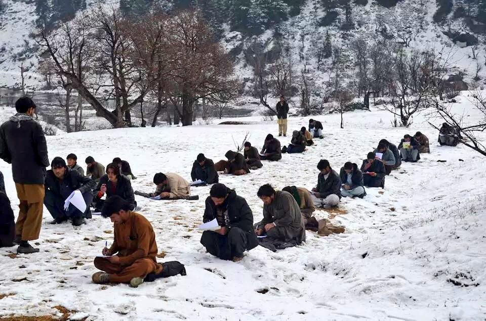 #AFG Quest for education - exams in Nuristan even snow can't prevent students. http://t.co/bSWWwlqfzr