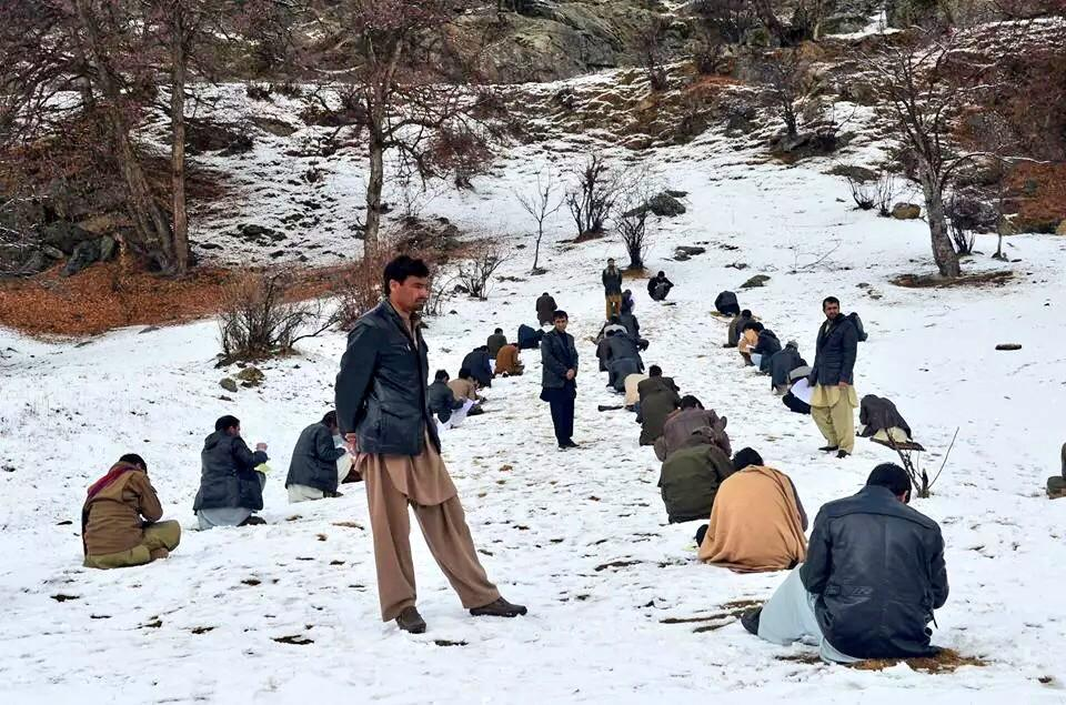 #AFG Exam in Nuristan province - most of students travelled for hours on foot 2 take this exam. http://t.co/z77NDljImA