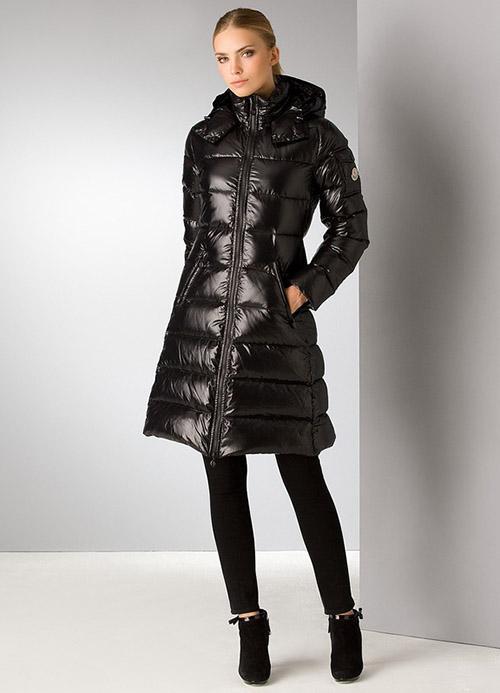 пуховое пальто женское длинное с капюшоном зимнее где выбрать в москве