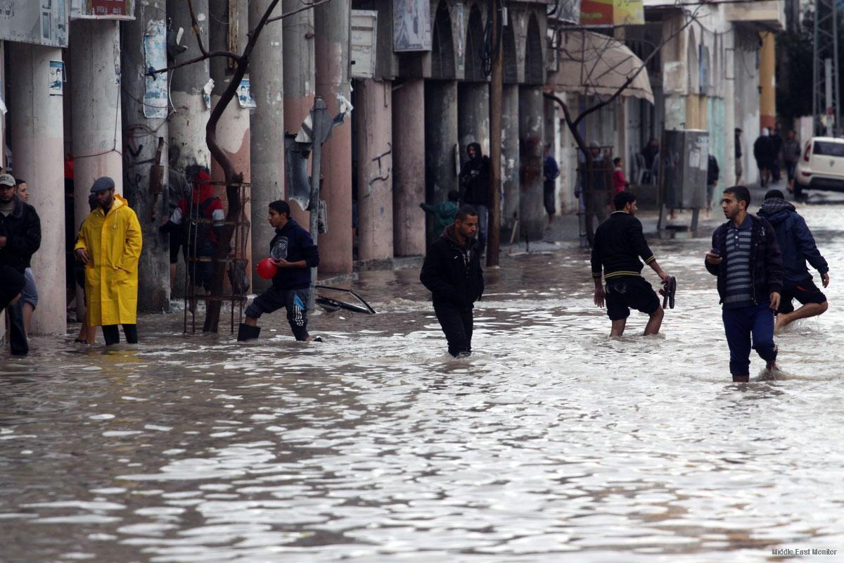 Flood leaves Gaza in ruins, UN declares state of emergency