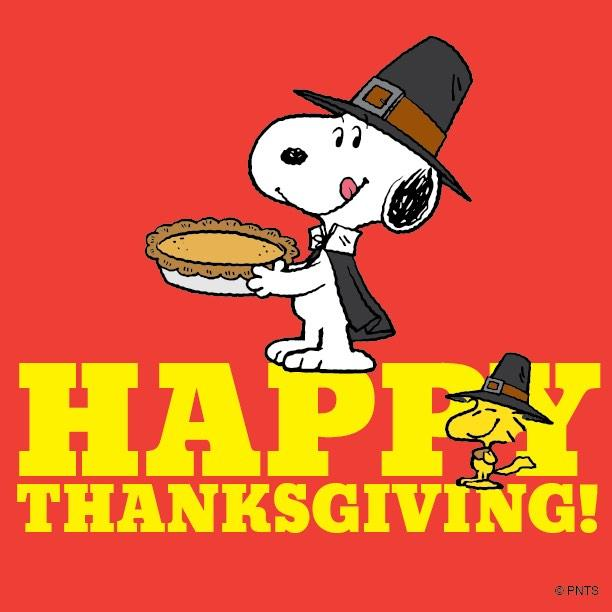 """PEANUTS on Twitter: """"Happy Thanksgiving! http://t.co ..."""