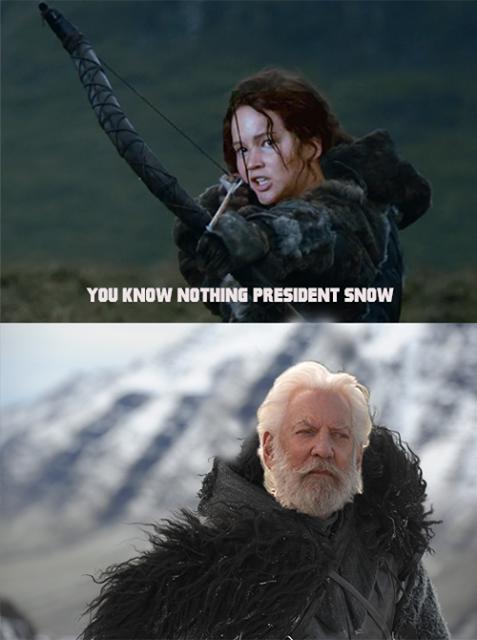 president snow meme - 500×780