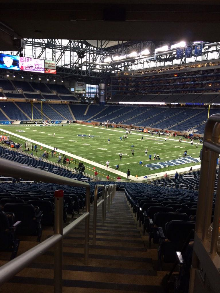 """Christina Nurse on Twitter: """"@oncom is in the Lion's den. #goLions ..."""