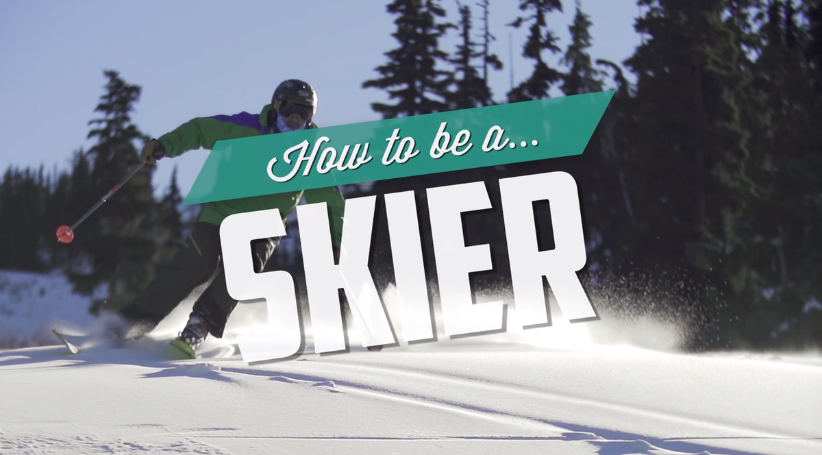 Have you ever wondered how to be a skier? Wonder no more! (WARNING: this will make you laugh!) http://t.co/mk4dLU9npb http://t.co/9Hk344GLpC