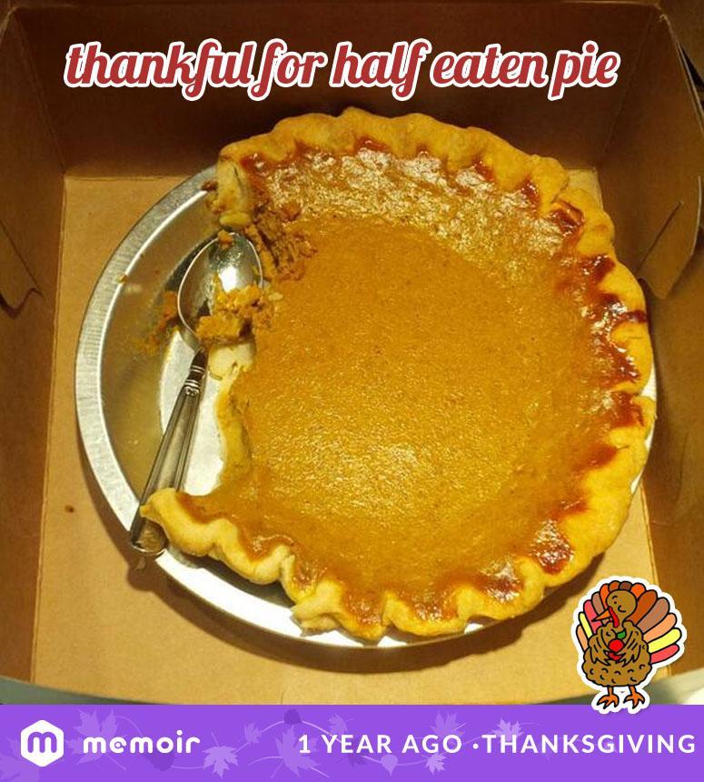 RT @memoir: @stephaniepratt #TBT to that time @spencerpratt & @heidimontag brought a half eaten pie via http://t.co/hZysDjiax5 http://t.co/…