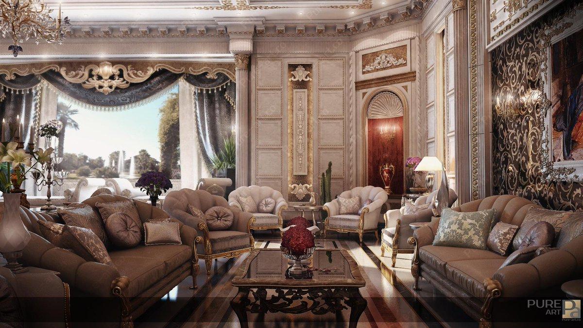 Pure art on twitter classic interior design style for Villa hall interior design