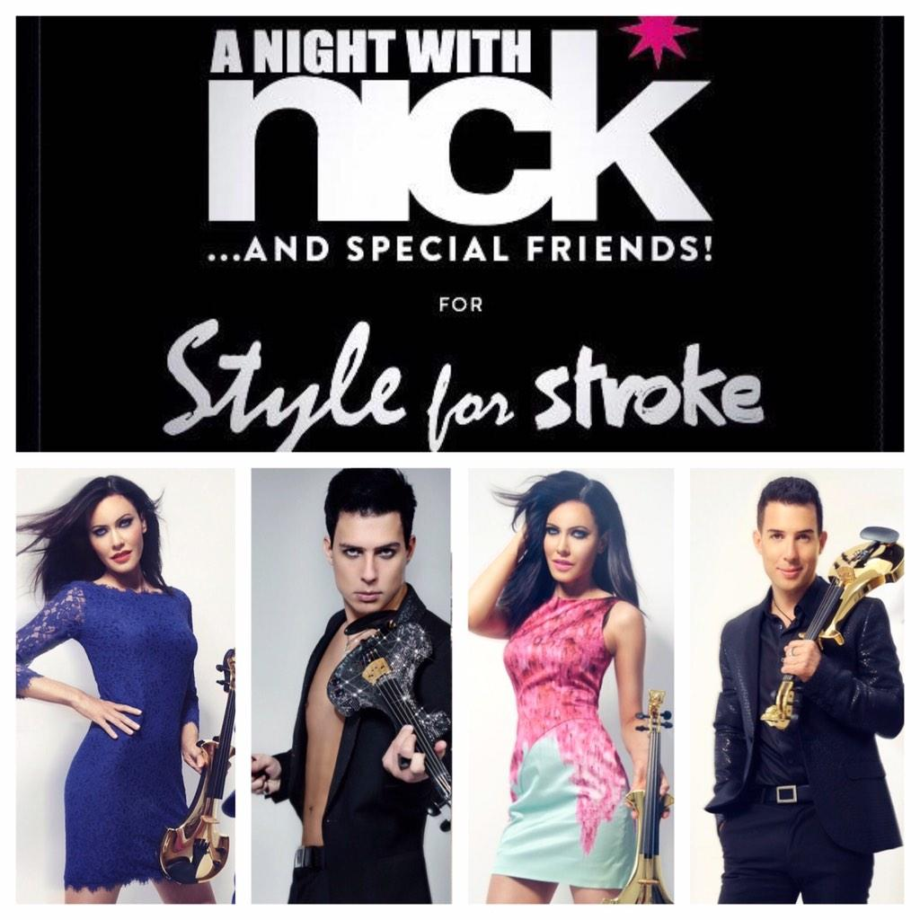 Looking forward to rockin @FUSEband fave #queenmedley soon 4 @styleforstroke @nickede @BenLeeViolin @LinziStoppard