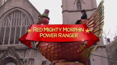 Mighty Morphin Power Rangers Float