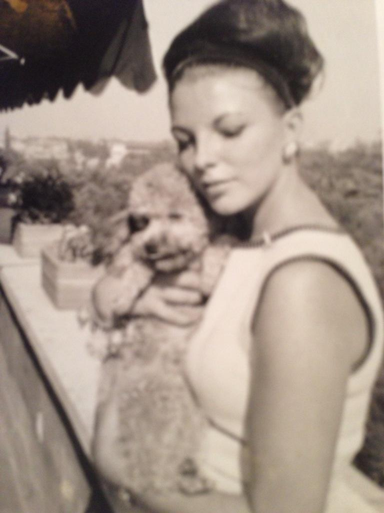 Me & my dawg ! #throwback Thursday ,she was called Ladybird http://t.co/xEeQXwWGVT