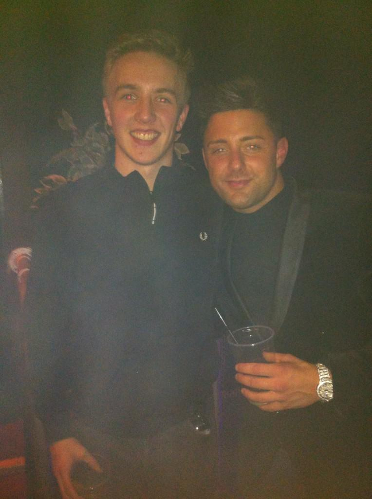 RT @SeanWise1892: Good lad that @RicciGuarnaccio sorted me out for drinks all night last night in Warehouse, love the Geordies http://t.co/…