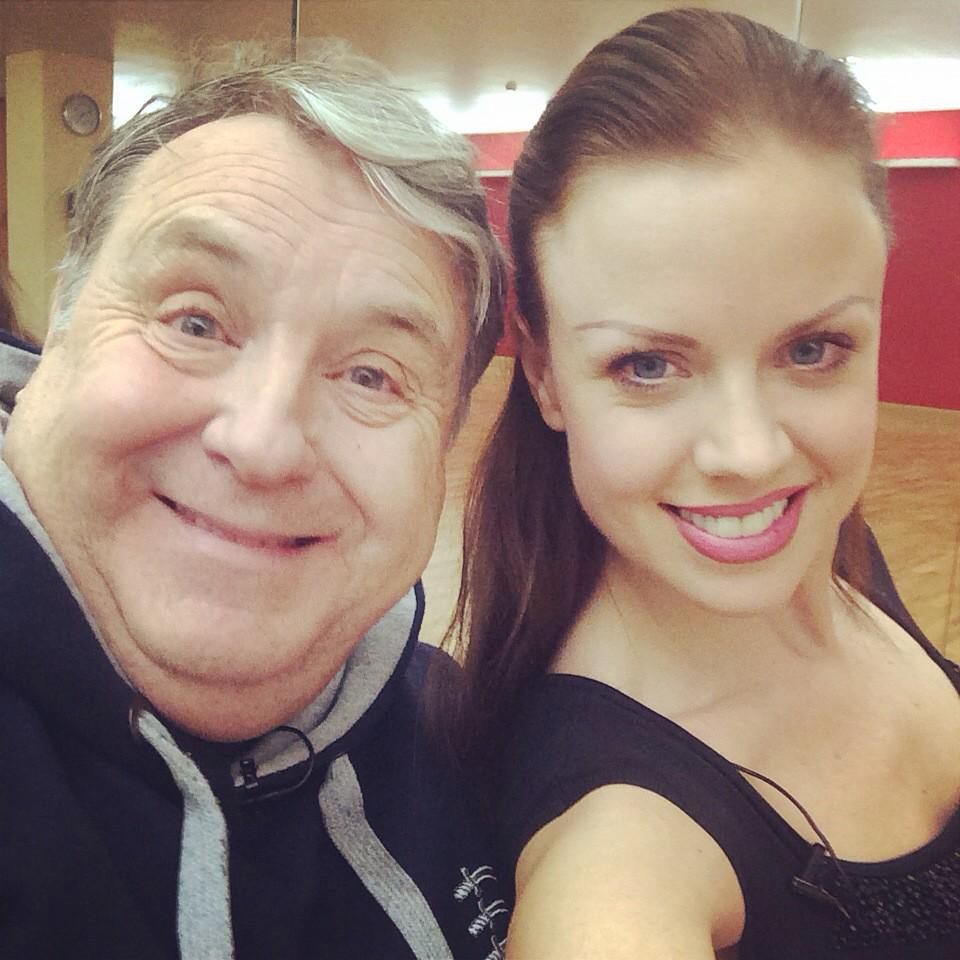 RT @joanneclifton: Lovely HAIR now @THERussellGrant http://t.co/K31Wq2tz1Q