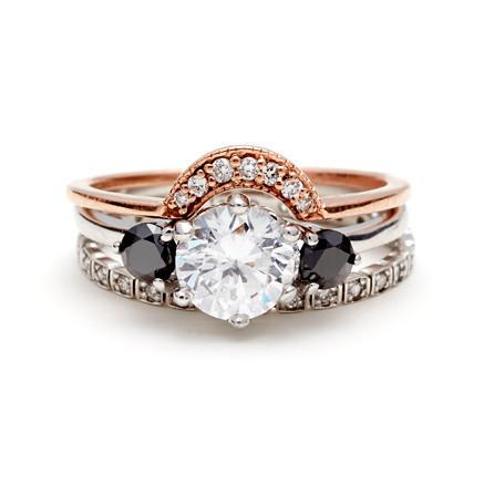 Holy engagement season, these nontraditional rings are stunning: http://t.co/s1X0bmHcsW http://t.co/quC0jDRIW6