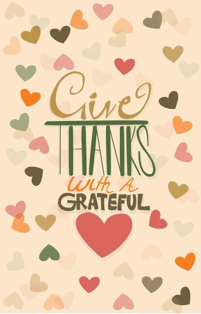 Show gratitude every day. Happy Thanksgiving lovebugs! http://t.co/wTvBvTkMb8
