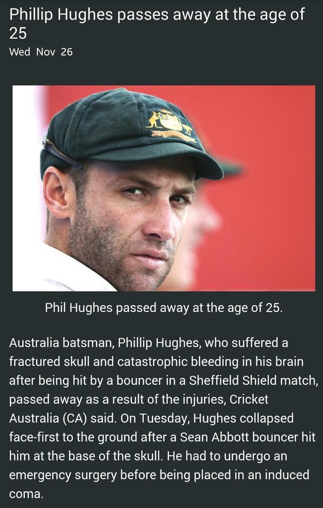 Thumbnail for A Tribute to Phillip Hughes #putoutyourbats