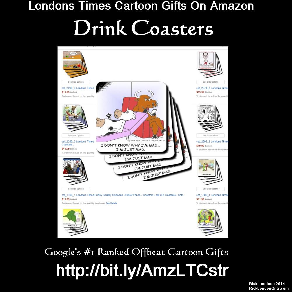 Funny @LTCartoon #Coasters <br>http://pic.twitter.com/AVaMHc5lFL #amazon #humor #gift #gifts #offbeat #quality #discount #kitchen  http:// bit.ly/AmzLTCstr  &nbsp;