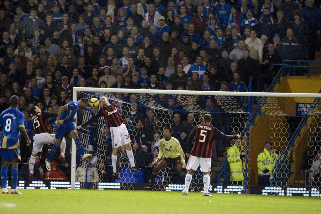 It happened six years ago tonight. And admit it, this photo made you smile! #Pompey http://t.co/fojrkxDf8O