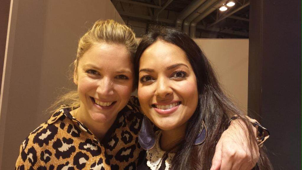 RT @shelinacooks: Lovely day @BBCGoodFoodShow on @HotpointUK stage with the lovely @lisafaulkner1 more fun tomorrow :p  @Youdie73 http://t.…