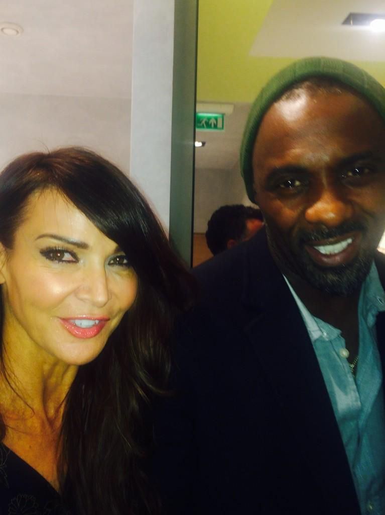 With the fabulous @idriselba at @NaomiCampbell fashion for relief #fashion #charity http://t.co/Y6S68nVvPw
