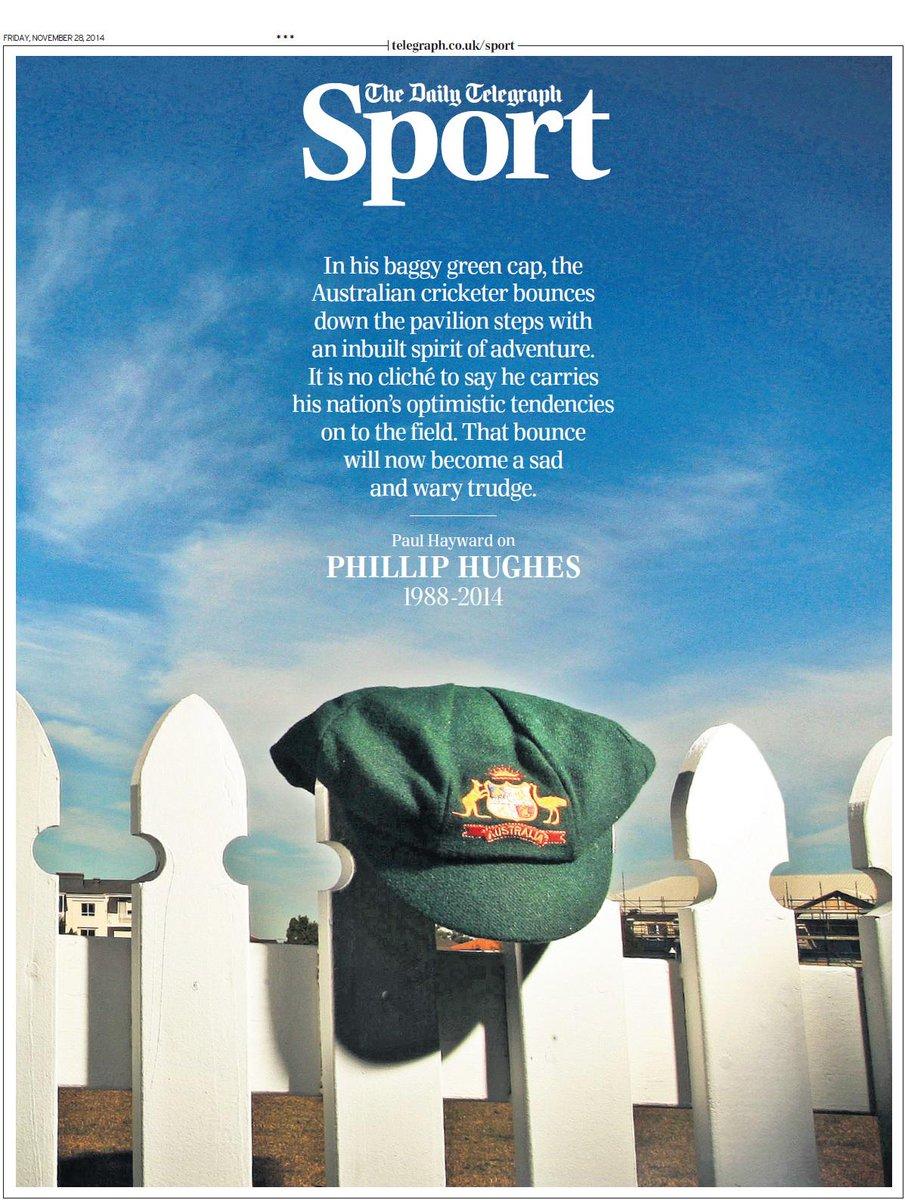 Portada de The Telegraph del 28 de Noviembre