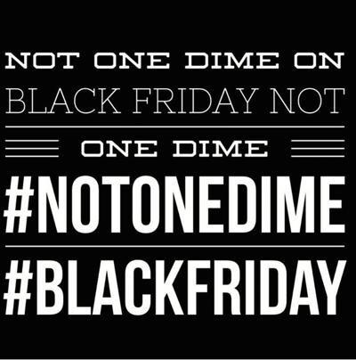 Don't forget. Starting tonight. Value our lives like you value our money #boycottblackfriday #blackfriday http://t.co/HYj4tSt0Qu