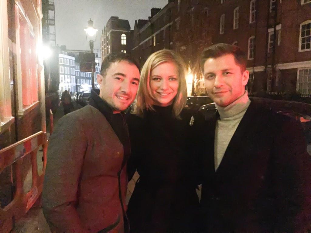 """""""@vincentsimone: Look who's come to see @VFDanceTilDawn! My good friend @PashaKovalev & @RachelRileyRR xxx http://t.co/vf7znO8igb"""" loved it!"""