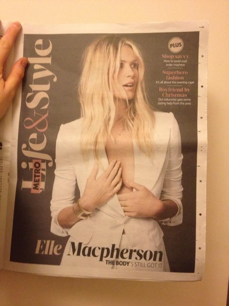 RT @TimeaKovari: @ellemacpherson #HappyThanksgiving beautiful Elle! ♥ XX -I am thankful for THIS today: You and your @superelixir  ♥ ! http…
