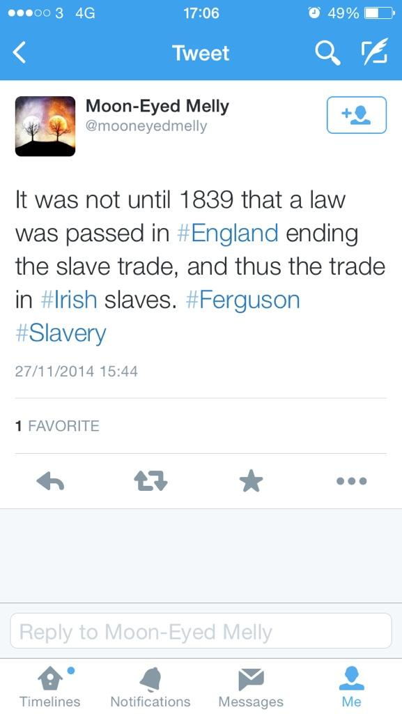 @JoeSpillane this is the best one. 32 years after the British abolished their actual slave trade! http://t.co/dteVwxaDRc
