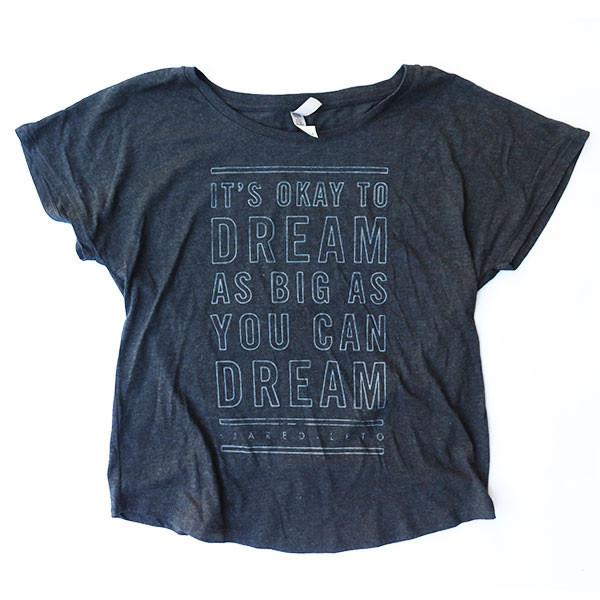 "RT @JaredLetoMerch: ""IT'S OK TO DREAM BIG!"" - @JaredLeto - http://t.co/6nib63l2m3 http://t.co/2ThE00XHOt"