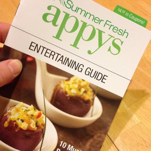 I'm loving the #Appys2014 Entertainig Guide! http://t.co/C1QGmOARvT