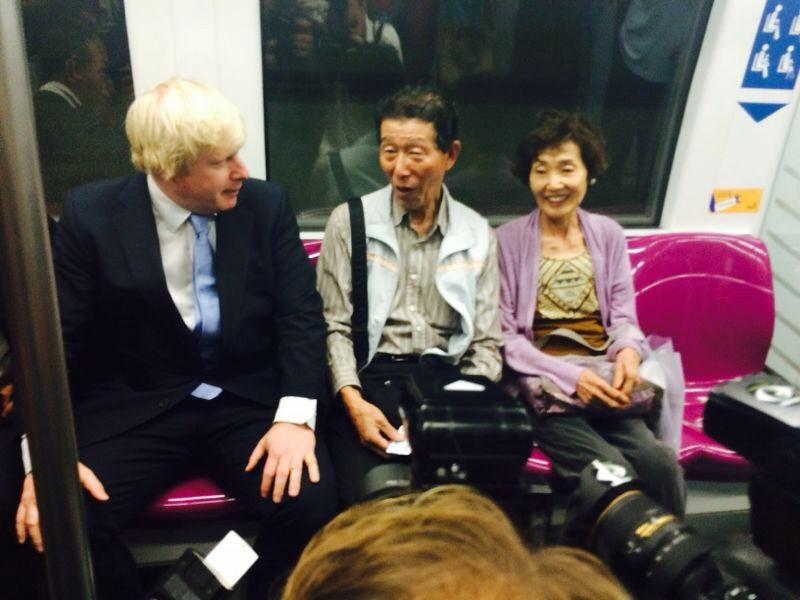 Riding Singapore's gleaming tube - the MRT - this morning on the way to a meeting with the PM http://t.co/OXshmGywbR