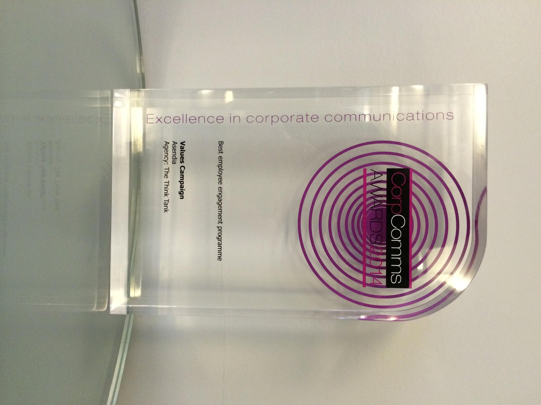 The Think Tank wins at the #CorpComms Awards - read more: http://t.co/AcgnSP0QGu #marketing http://t.co/v2WLjDsEbz