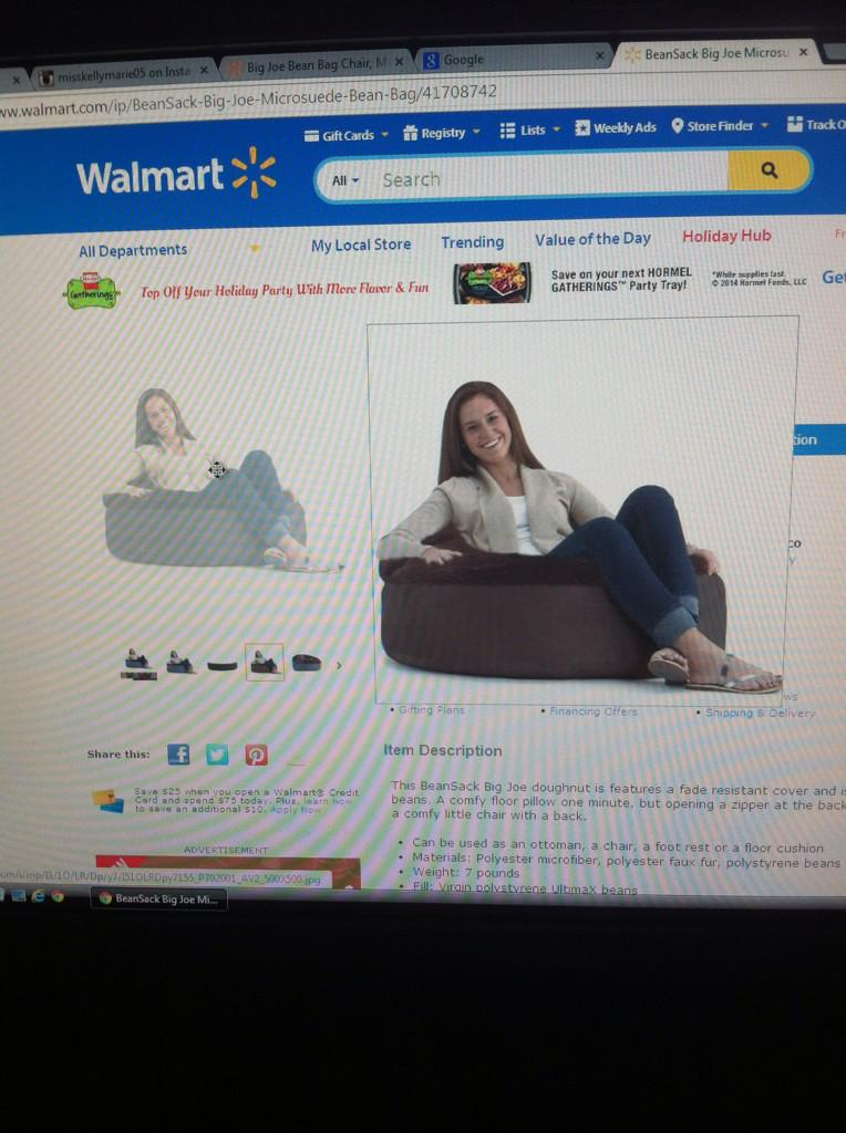 Lol just chillen in Walmart and Meijer