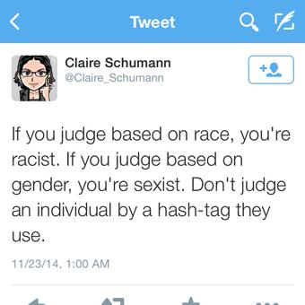 Poor, sweet, totally real and not fake @Claire_Schumann. http://t.co/5ZsDPl2ovJ