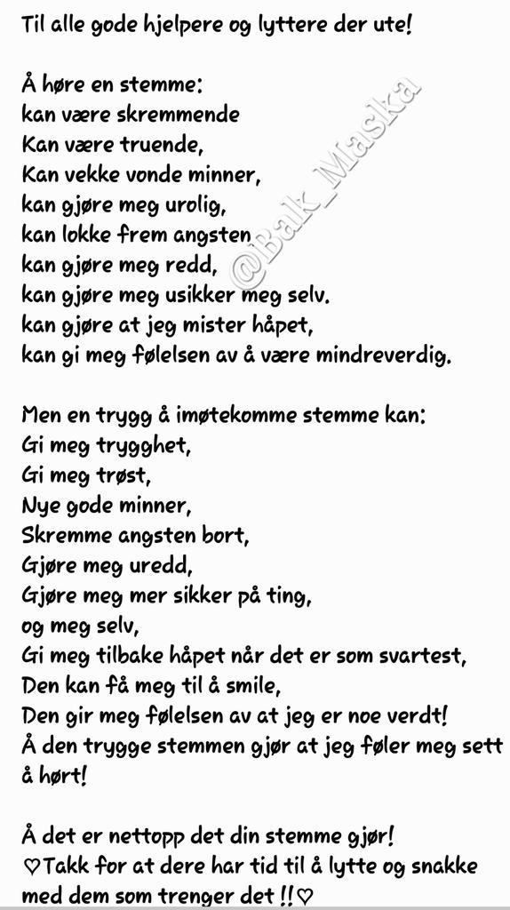 dikt om trygghet