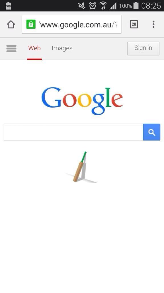 Very well done, Google Australia. #putoutyourbats http://t.co/8aNR2pZO6l
