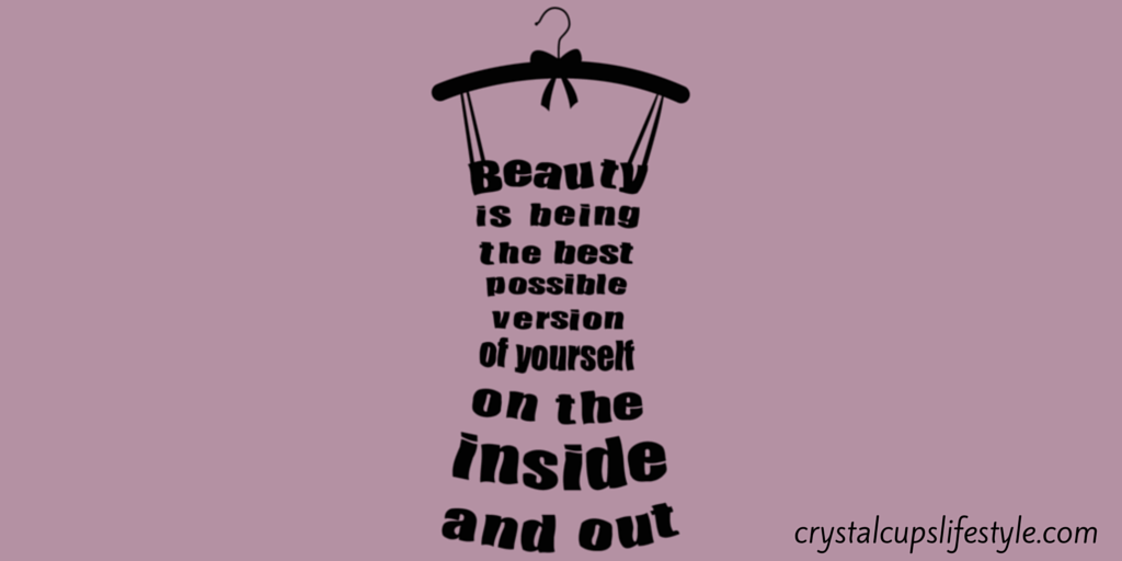 """CRYSTAL On Twitter: """"Lovely Quote! """"Beauty Is Being The"""