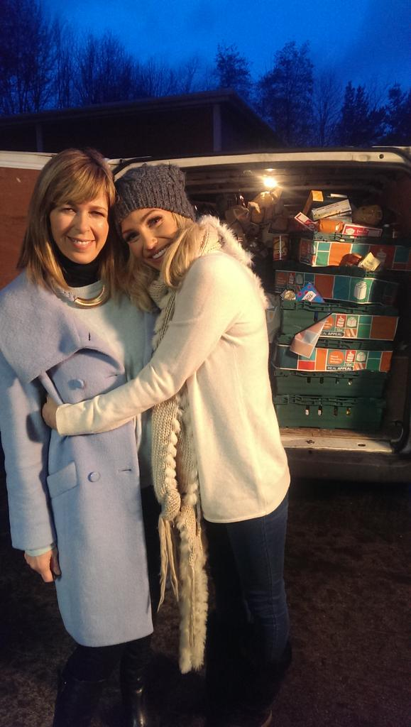 RT @chantalrobehmed: #GMBMealAppeal celeb donations from @SarahNHarding with @kategarraway @GMB. Go to http://t.co/MfXSZCCIbl for deats! ht…