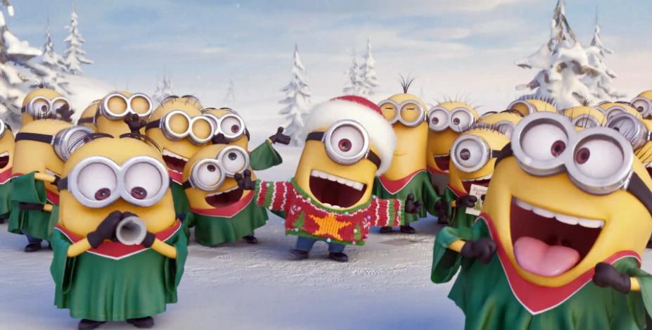 Auguri di Buon Natale con il Video Minions