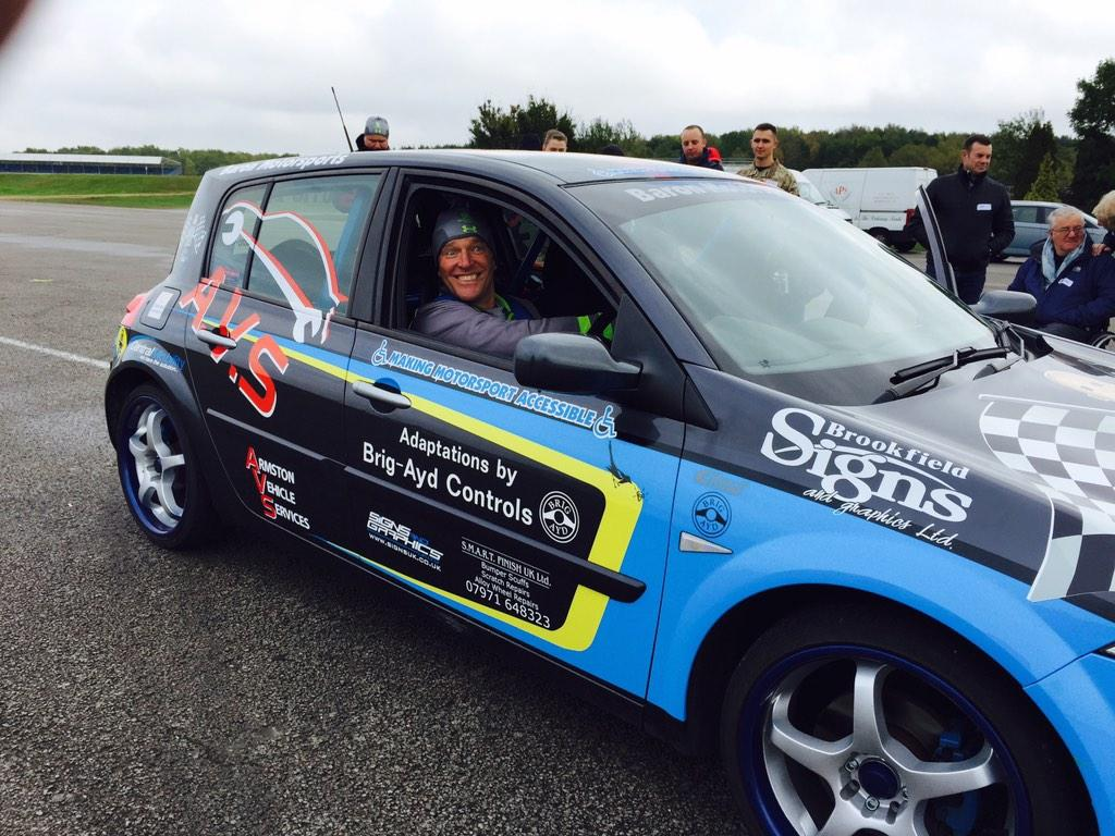 Baronmotorsports making motorsport Accessable to hundreds of disabled people throughout the UK . Please donate http://t.co/9jbHl57CpK