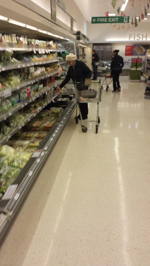 #BlackFriday chaos at Waitrose West Ealing.   When will this madness stop? http://t.co/6qhiShxz5U