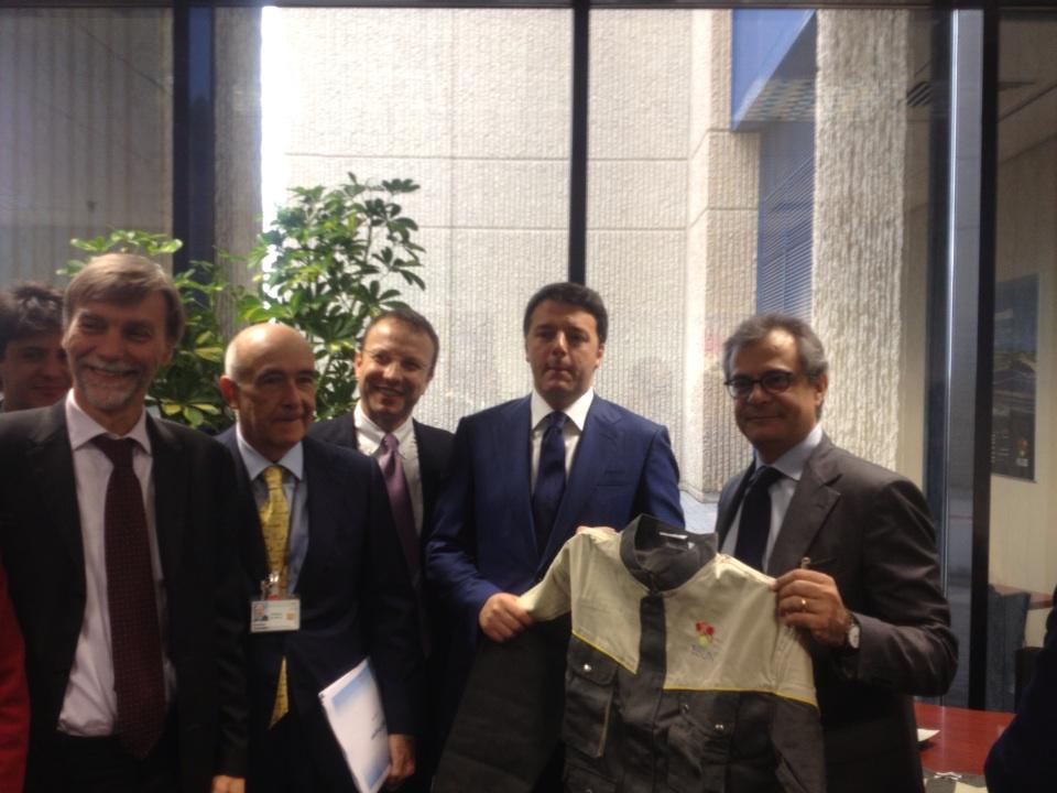 Matteo Renzi a Catania, le tappe della visita$