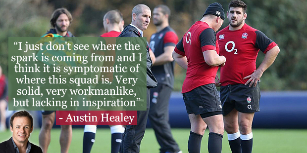 RT @TelegraphRugby: .@IamAustinHealey says the England squad is lacking mavericks in today's column... http://t.co/Ug5EDarfME http://t.co/C…