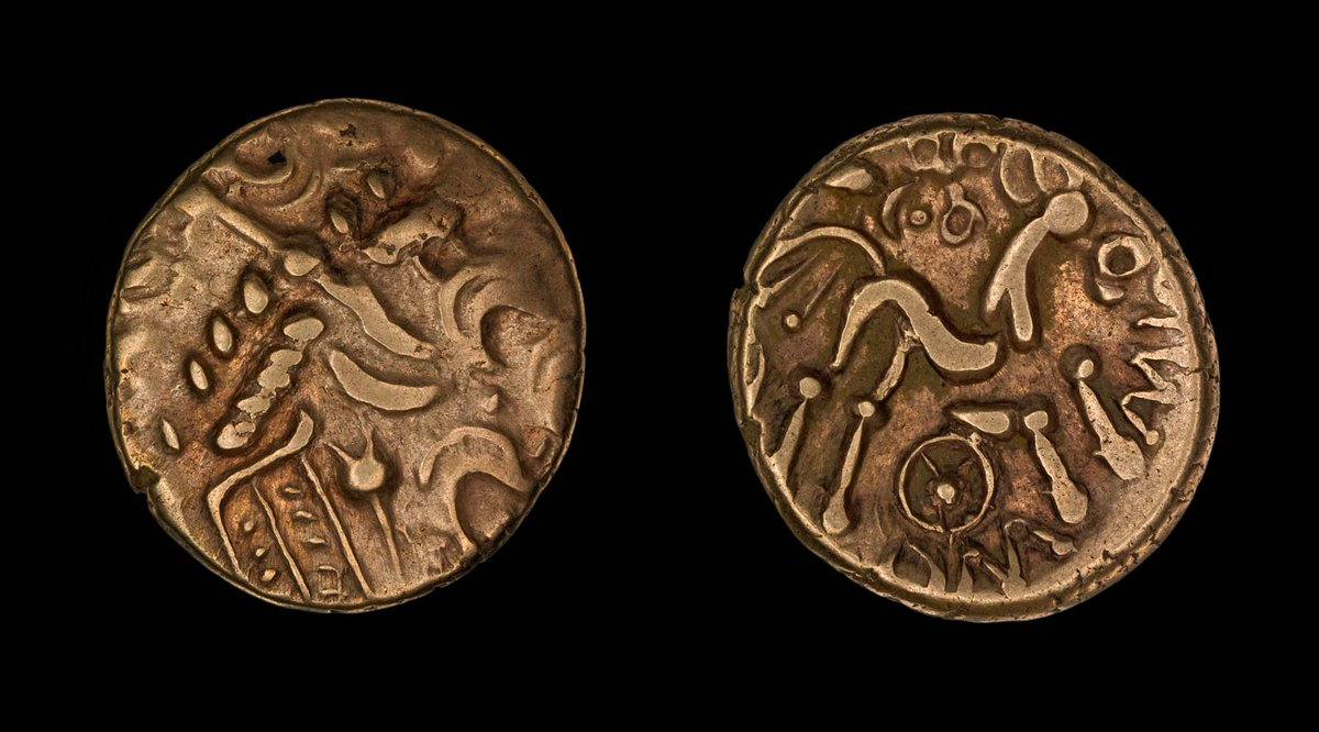 British Museum On Twitter Inscriptions On Iron Age Coins Are The