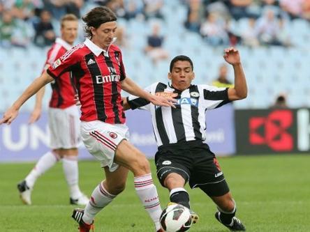 Milan - Udinese: Thống kê trước trận