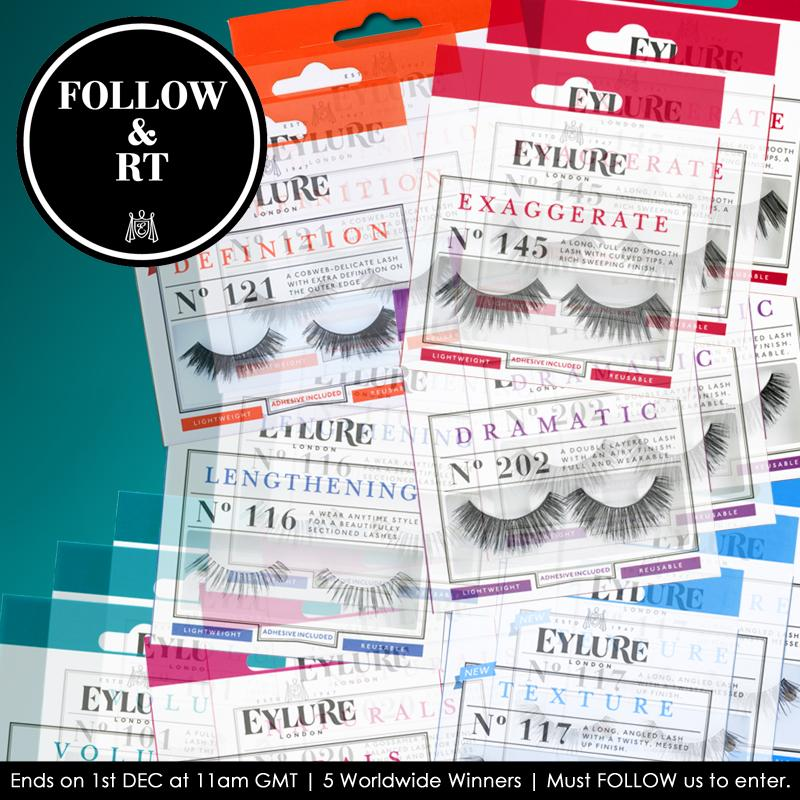 Follow & RT for a chance to #win a selection of our bestseller #lashes! Ends on 1st DEC. Good luck! ♥ http://t.co/ZUC5hP3Kxm
