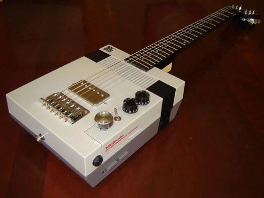1985 Gibson NES Paul... #Nintendo #Retrogaming #NES #Guitar #NintendoDay http://t.co/L9BxKIqaLM