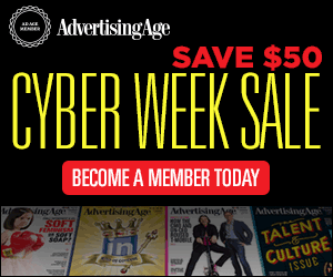 #BLACKFRIDAY SALE: Become an Ad Age Member for Only $59! http://t.co/2RulajReV8 http://t.co/oa2ta0HWs7